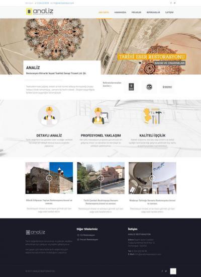 Analiz Restorasyon Web Tasarım Bursa