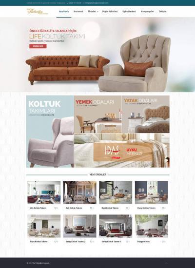 By Türkoğlu Concept  Mobilya Mağaza Web Sitesi Bursa