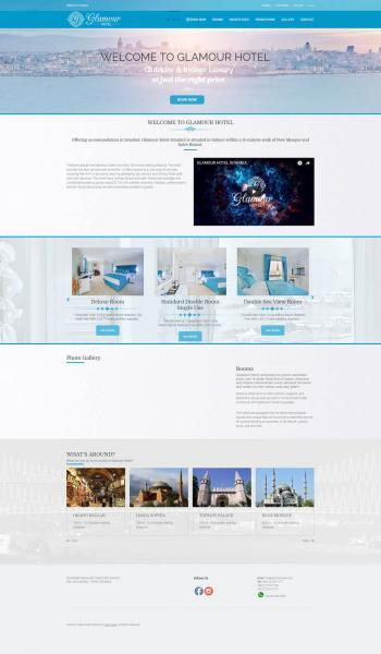 Glamour Hotel Web Tasarım İstanbul